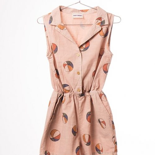 Tailor Neck Rompers Basket Ball