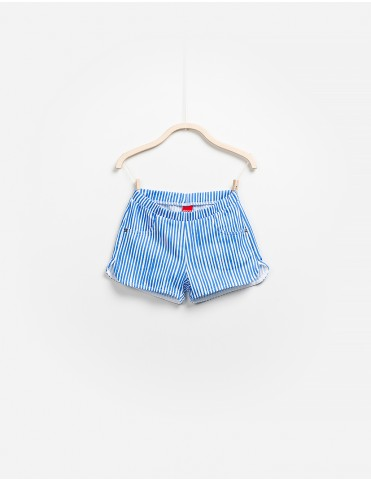 Shorts Righe Punto Roma