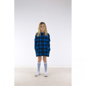 Check Woven Shirt Dress