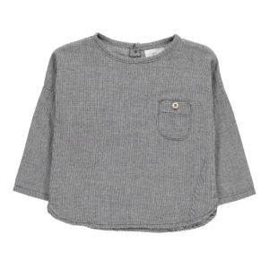 Teo Check Shirt Grey