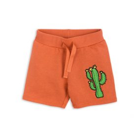 Mini Rodini Donkey Cactus Sweatshorts Orange 1