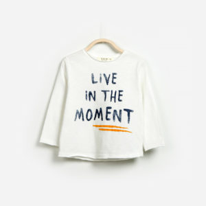 "T-shirt ""Live In The Moment"""
