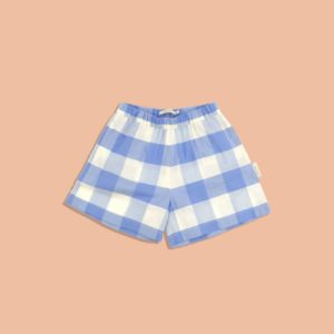 Huge Check Woven Short