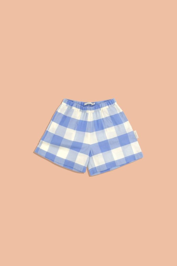 Tinycottons Huge Check Woven Short 3