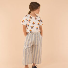 Tinycottons Stripes Woven Cool Pant 3