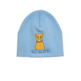 1 Mini Rodini Cat Campus Patch Hat Lightblue S Big