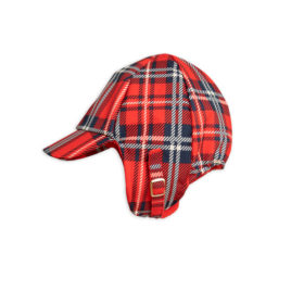 3 Mini Rodini Alaska Check Cap Red S Big