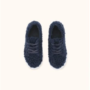 Fluffy Sneakers Navy