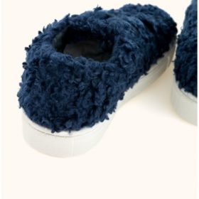 Tinycottons Fluffy Sneakers Navy 3