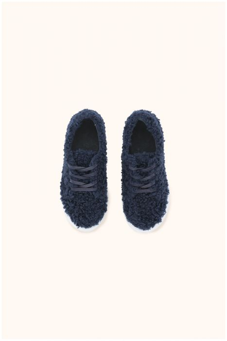 Tinycottons Fluffy Sneakers Navy