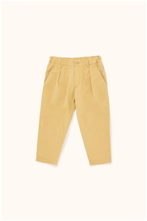 Tinycottons Solid Pleated Pant