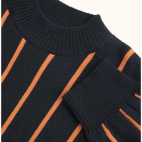 Tinycottons Stripes Mock Sweater 2