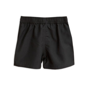 2 Mini Rodini Fish Swimshorts Black S Big