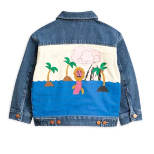 Seamonster Denim Jacket Blue