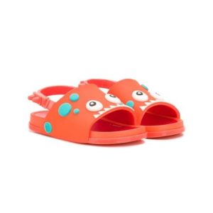 Mini Melissa Beach Slide Sandal Dino