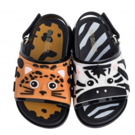 Mini Melissa Beach Slide Sandal Zoo Up