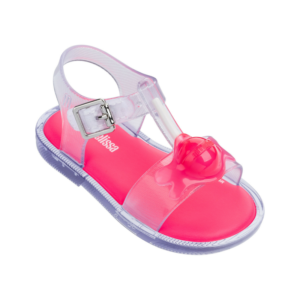 Mini Melissa Mar Sandal Clear Pink