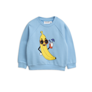 Banana Sp Sweatshirt Light Blue