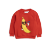 Mini Rodini Banana Sp Sweatshirt Red