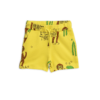 Mini Rodini Cool Monkey Aop Sweatshorts Yellow