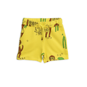 Cool Monkey Aop Sweatshorts Yellow