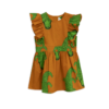 Mini Rodini Crocco Ruffled Dress Brown