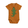Mini Rodini Crocco Sp Ss Body Brown