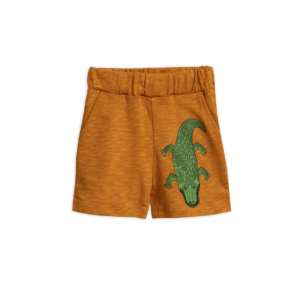 Croco Sp Sweatshorts Brown