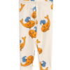 Mini Rodini Whale Aop Leggings Orange