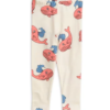 Mini Rodini Whale Aop Leggings Pink