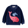 Mini Rodini Whale Sp Terry Sweatshirt