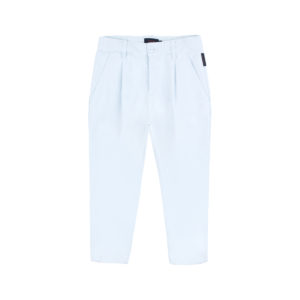 Denim Pleat Pant