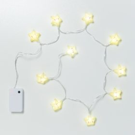 A Little Lovely Company String Light Yellow Stars 2