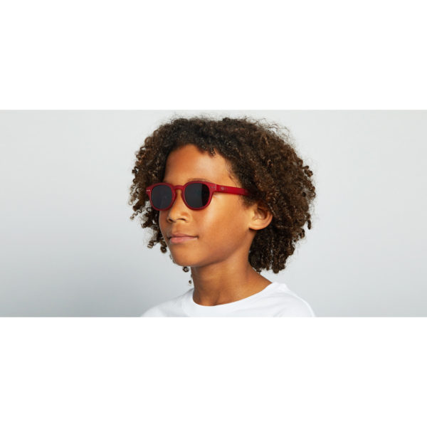 Boy C Sun Junior Red Occhiali Sole Bambino