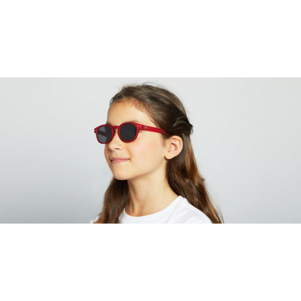 Girl C Sun Junior Red Occhiali Sole Bambino