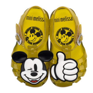 Mini Melissa Aranha Mickey & Friends Yellow