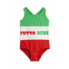 Mini Rodini Red Tutto Bene Sporty Swimsuit