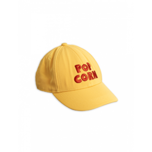 Pop Corn Embroidered Cap