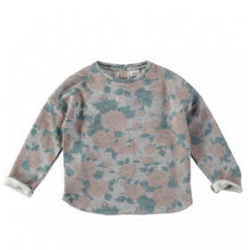 Buho Rose Floral Sweater