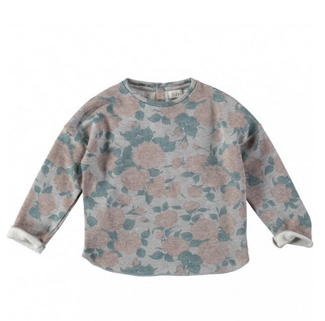 Rose Floral Sweater