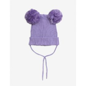 Mini Rodini Ear Hat Purple