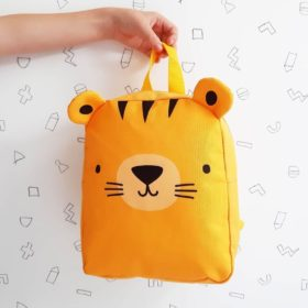 A LITTLE LOVELY COMPANY Little Backpack Tiger 5