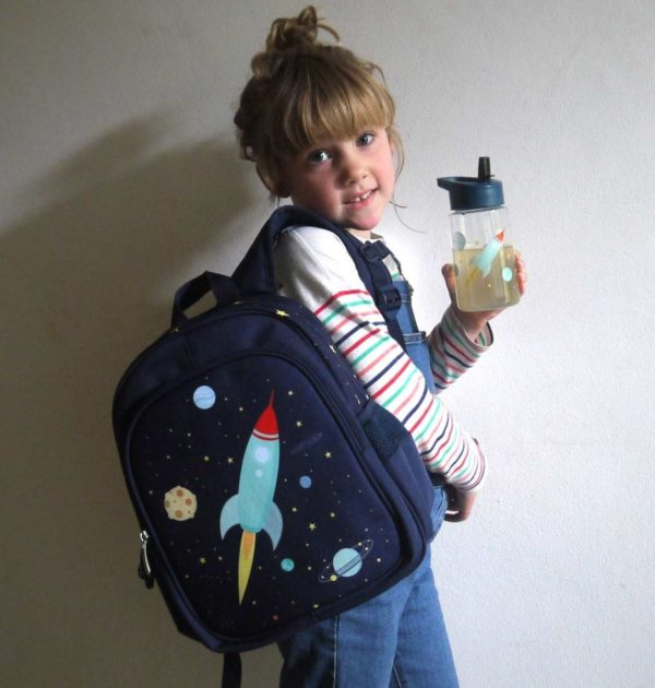 A Little Lovely Company Space Backpack 4