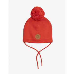 Penguin Beanie Red