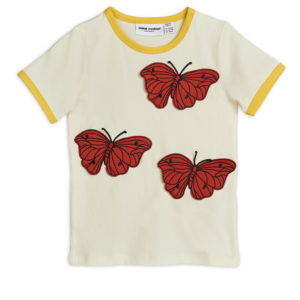 Butterflies T-shirt Red