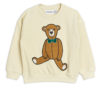 2022016011 1 Mini Rodini Teddy Patch Terry Sweatshirt Offwhite V2