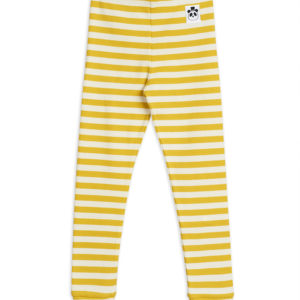 Stripe Leggings Yellow