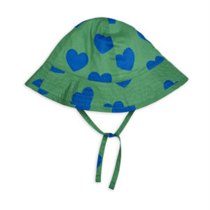 Hearts Sun Hat Green
