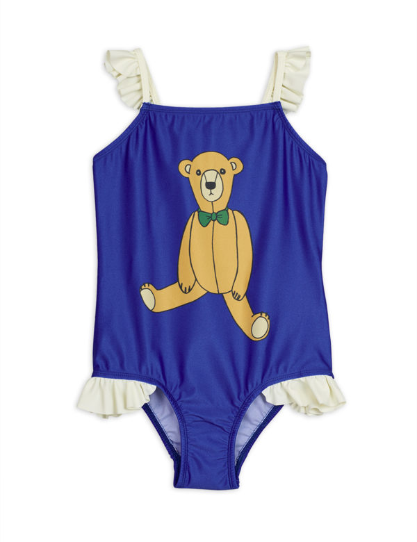 2028011360 1 Mini Rodin Teddybear Wing Swimsuit Blue V2