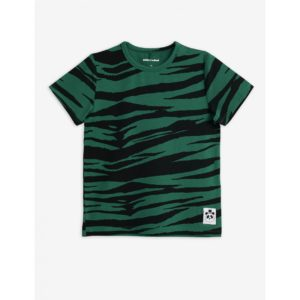 Basic Tiger Short Sleeve T-Shirt Green